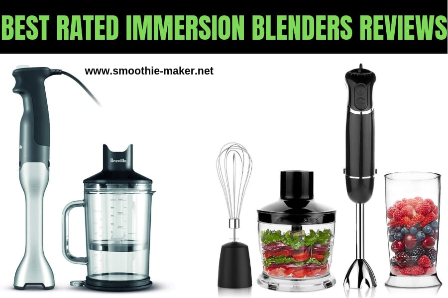 Top 8 Best Rated Immersion Blenders Reviews (2019)