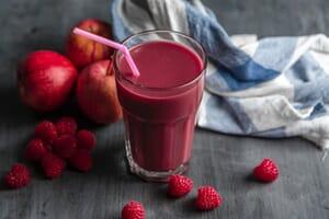 Strawberry Red Detox Smoothie