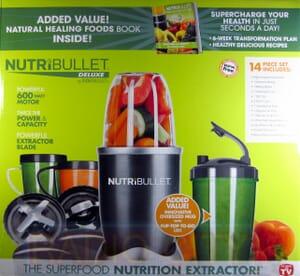 Nutribullet 14 Piece Nutrition Extractor 600W Blender Juicer NBR-1401