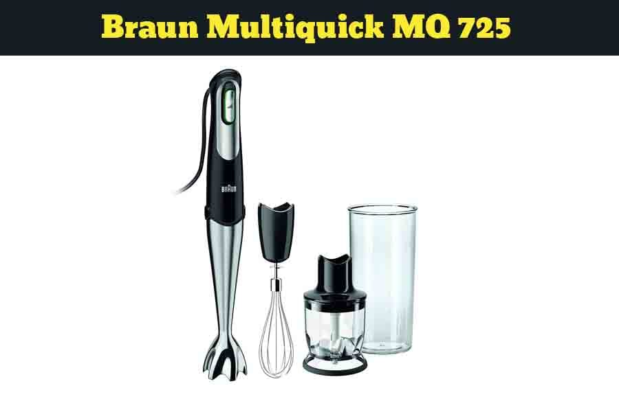 Braun MQ725 Multiquick Hand blender Review (2019)